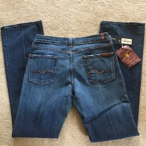 7 For All Mankind Bootcut 30 NWT